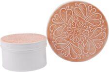 Vintage-Dosen XL 2er Set Ornament Rosé-Braun Weiß Emalliert Shabby Landhaus NEU