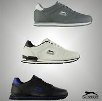Mens Slazenger High Quality Classic Leather Trainers Footwear Sizes UK 7-12