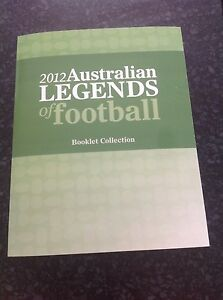 2012 Australian Legends of Football Stamp Pack Mint Condition