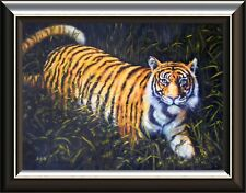 'Burning Bright', Tiger Oil Painting: A Fantastic Gift Idea!