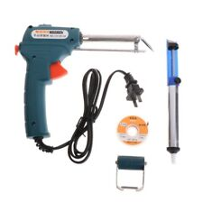 220V 60W Automatic Send Tin Gun Electric Soldering Iron Rework Station Tools New