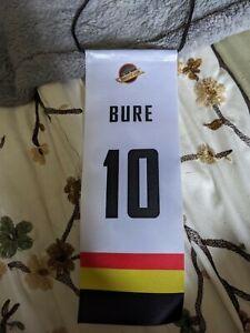PAVEL BURE #10 VANCOUVER CANUCKS RETIREMENT BANNER
