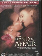 THE END OF THE AFFAIR - Ralph Fiennes, Julianne Moore, Stephen Rea  - DVD
