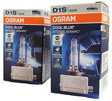 D1S OSRAM Cool Blue Intense 6000K Xenarc deux lampes au xénon PK32d-2  66140CBI