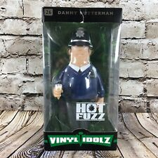 "Hot Fuzz Officer Danny Butterman Vinyl Idolz 8"" Tall Collectible Figure #26"