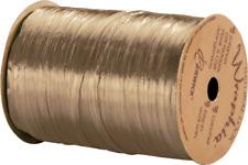 "263-2-8 Pearlized Kraft Wraphia Ribbon 1/4"" x 100 Yards"