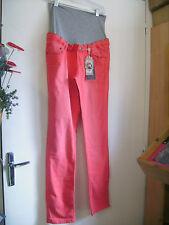 Pantalon de grossesse NOPPIES slim corail taille W32 neuf + étiq.