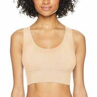 607702 1X//2X Yummie Seamless Scoop-Neck Bra 2-pack in Frappe