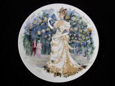 Limoges Les Femmes Du Siècle - 1876 Plate - Very Sharp