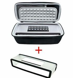 Bose Travel Case Bag & Soft Cover Soundlink Mini 2 Shockproof Charger Storage