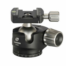 Leofoto LH-40 lower center double notch Ball Head with Quick Release plate