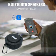Waterproof Speaker Wireless Bluetooth FM Radio TF Suction Car/ BATHROOM Shower