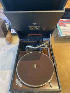 His masters voice gramophone record player 78 Rpm