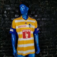 Luzern Jersey Away shirt 2015 - 2016 Yellow Adidas F86463 Trikot Mens Size XL