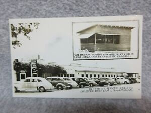1941 KNOTTS BERRY PLACE Real Photo Postcard RPP now KNOTTS BERRY FARM  UNUSED