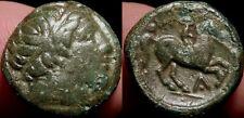 MORTOWN: Macedonian Kingdom Philip II AE17 Macedonia Apollo + Youth + Horse