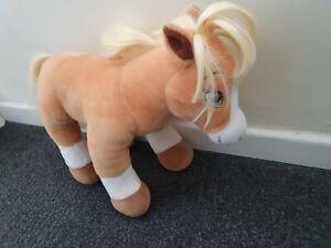 Build A Bear Horses & Hearts Palomino Horse pony Plush Soft Toy BAB
