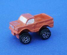 Miniature Dollhouse Orange Toy Truck  New