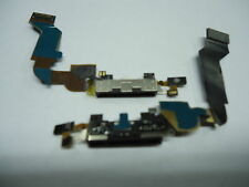 FLAT CONNETTORE DI RICARICA PER IPHONE 4S DOCK USB CON MICROFONO NERO