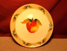 Tabletops Limited Dinnerware Acacia Apple Pattern Salad Plate
