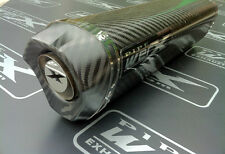 Suzuki GSXR 750 Y K1 K2 K3 K4 K5 Carbon Tri Oval Carbon Outlet Exhaust Can