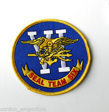 UNITED STATES NAVY SEAL TEAM 6 PATCH 4 INCHES NEW!!