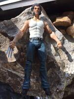 "Diamond Marvel Select 6"" Scale Logan Wolverine Custom Head Loose Figure Legends"