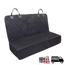 Pet Dog Car Seat Cover Waterproof Car Back/Rear Bench Pad Mat Armrest Compatible