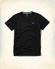 HOLLISTER Must-Have V-Neck T-Shirt Medium *Brand New w/ Tags* Tee by Abercrombie