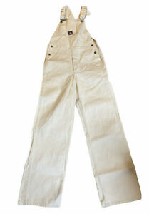 Vintage Ben Davis Cotton Painters Overalls Made In USA 30x32