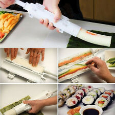 Perfect Sushi Roll Maker Kit Sushezi Rice Roller Mold Mould Chef Kitchen DIY Set