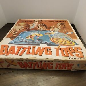 Vintage Ideal Battling Spinning Tops Super Fun Family Night Game With The Kids