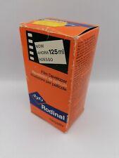 agfa rodinal 125ml developer darkroom material