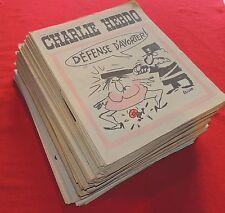 CHARLIE HEBDO. LOT des n°100 à 199. Octobre 1972 à septembre 1974 COMPLET. Neuf