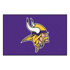 "Fanmats NFL Minnesota Vikings Rookie Mat Area Rug Bath Mat 20""x 30"" Del 2-4 Days"