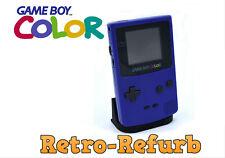 Nintendo Game Boy Colour Console - Gameboy - Grape - Red - Blue - Black - Green