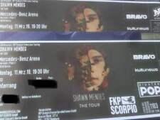 Shawn Mendes Konzert Berlin 11.03.2019 - 2 Sitzplatz Karten Original Tickets