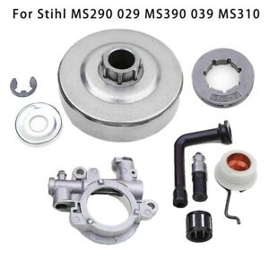 Clutch Drum Sprocket Rim Kit For Stihl MS290 MS390 029 MS310 Chainsaw Bearing