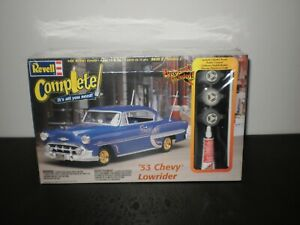 '53 CHEVY LOWRIDER MODEL KIT REVELL 1999 1/25 SCALE FACTORY SEALED