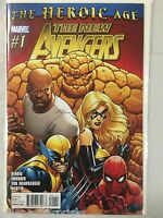 The New Avengers #1 Comic Book Marvel 2010