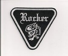 Rocker patent plate patch, 4 inch Cafe Racer. Ace. Triumph 59 Club BSA  NEW