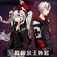 Anime Azur Lane Prinz Eugen Long Sleeve Unisex Hoodie Harajuku Coat Cosplay