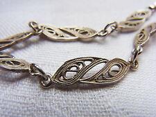Friesenmuster Filigransilber Silberarmband Armband Bracelet 835 Silber Nr.104