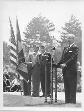 1965 PRESS PHOTO Lakewood OH Memorial Day Speaker #728