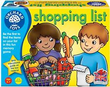 Orchard Toys Shopping List Baby/Toddler/Child Memory Game Education BN