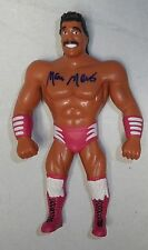 Marc Mero Signed Loose WWF 1997 Bend-Ems Action Figure BAS Beckett COA WWE Auto