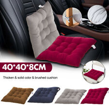 OUTDOOR Tie On Garden Patio Chair Cushion Seat Pads REMOVABLE COVER Living  * C