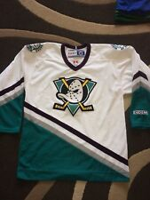Anaheim mightly Ducks NHL Hockey Sur Glace Jersey medium adulte Canada