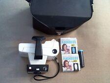 Vintage Polaroid Swinger Land Camera Model 20 W/ Case & Print Coater Flashbulbs