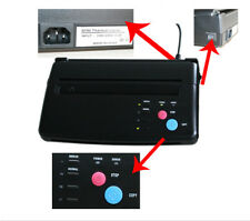 Tattoo Transfer Copier Printer Thermal Stencil Paper Maker Machine USA SHIPPING